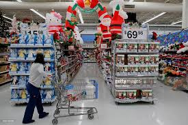 inside a wal mart store ahead of black friday photos and