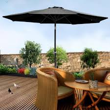 Aluminum Patio Umbrella by 2 7m Aluminum Patio Umbrella Sunshade Market Crank Tilt Outdoor