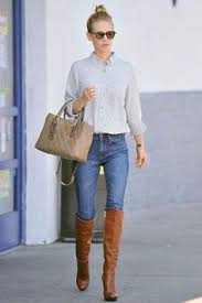 what to wear with light brown boots tan leather boots jeans white shirt shoes glorious shoes