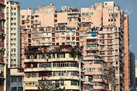 old apartment building in hong kong stock photo picture and