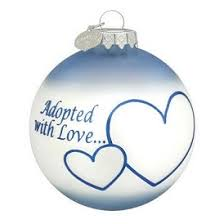 adoption ornament gift set for boy