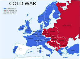 Map Of Cold War Europe by The Cold War And Beyond By Jesse Borjas