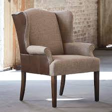 upholstered high back dining chair
