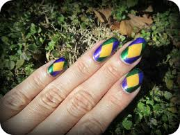 mardi gras nail concrete and nail mardi gras nails