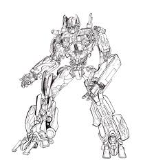 optimus prime weapons coloring pages coloringstar