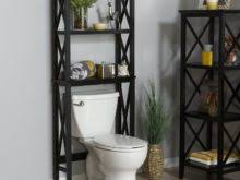 Over The Door Bathroom Organizer Over The Toilet Ladder Storage Image Gallery Home Ideas