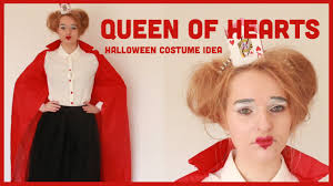 queen of hearts halloween diy u0026 costume inspiration youtube