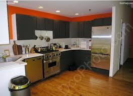 peinture orange cuisine peinture pour cuisine orange idée de modèle de cuisine