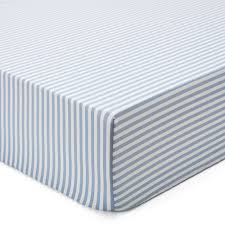 nashua bed linen light blue u0026amp white stripes with shell buttons