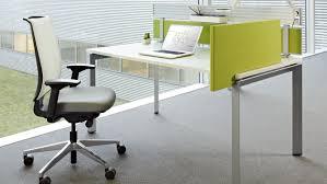 steelcase bureau bureau pour open space en bois en métal en stratifié
