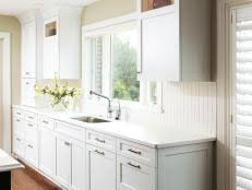 Kitchen Cabinets With Knobs Kitchen Style Guide Hgtv