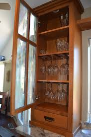 Kitchen Wine Cabinet Best 25 Craftsman Wine Glasses Ideas Only On Pinterest