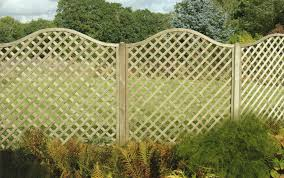 4 Ft Fence Panels With Trellis Wood Fence Panels Tampa Margarite Gardens