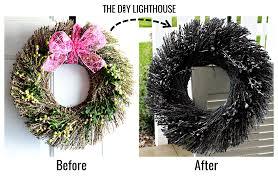 Halloween Wreath Diy Halloween Spider Web Wreath Tutorial The Diy Lighthouse