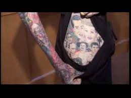 world u0027s most tattooed woman makes world record la femme la plus