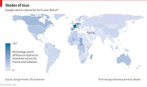 Paris World Map by The Global Empathy Gap Between Paris And Beirut