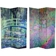 oriental furniture 6 foot double sided chat noir room divider 3