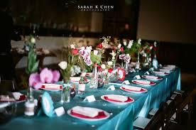 wedding table setting exles a smog shoppe wedding christina william sarah k chen