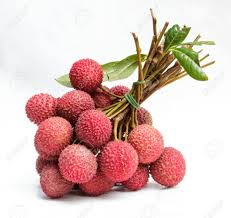 fruit similar to lychee the lychee fruit with white back ground stock photo picture and