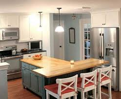 t shaped kitchen island t shaped kitchen island with wooden countertop home interior