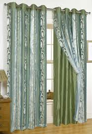 Double Panel Shower Curtains Tulip Garden Double Organza Window Panel With 8 Grommets U0026 Crushed