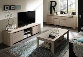 Stylish Grey Oak Finish TV Cabinet Modern Living Room Furniture - Oak living room sets