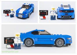 lego ford mustang sticking around adhesive labels and existential angst speed