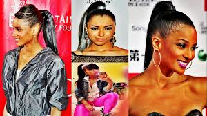 black hair weave ponytail hairstyles 4 ladys style health and