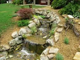 pondless waterfall use water features to increase garden home u0027s