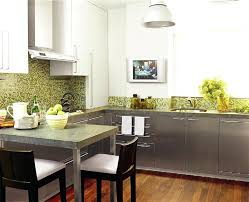 kitchen with backsplash pictures kitchen backsplash with green countertop tile white lime