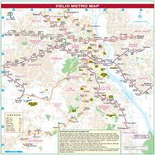 Rohini Metro Map by Delhi Tourism Map Delhi Road Maps