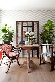 Shabby Chic Style Wallpaper by 27 Splendid Wallpaper Decorating Ideas For The Dining Room