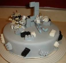 wars lego kids birthday cakes ideas with cake toppers png