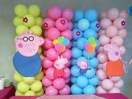 peppa pig decorations the 25 best peppa pig balloons ideas on peppa pig