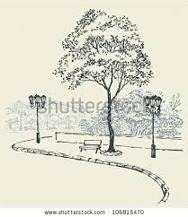 streetscape sketch by landscape architect what i do pinterest
