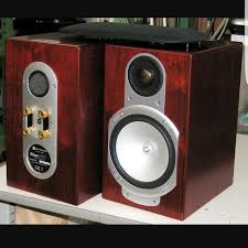 Silver Bookshelf Monitor Audio Silver Rs1 Bookshelf Speakers Electronics Audio On