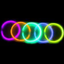 glow bracelets 1000 premium 8 glow sticks bracelets neon colors party favors ebay