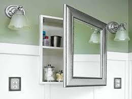 frameless recessed medicine cabinet recessed mirrored medicine cabinet bathrooms medicine cabinets