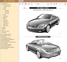 lexus sc430 manuals pdf repair manual cars repair manuals