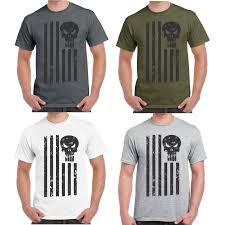 Black American Flag Shirt Limited Edition Punisher American Flag Shirt 30 Off While