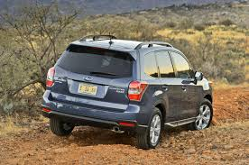 subaru forester off road 2014 subaru forester manual awd pzev first test truck trend