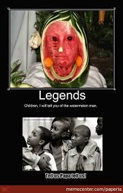 Watermelon Meme - the watermelon man by paperia meme center