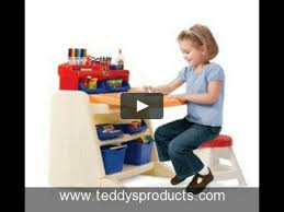 Step 2 Desk Easel Step2 Flip And Doodle Easel Desk With Stool Review On Vimeo