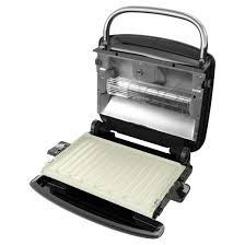 Toaster Press George Foreman Grill U0026 Broil 4 In 1 Electric Indoor Grill
