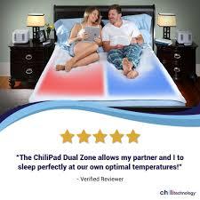 Chilly Pad Mattress Pad Amazon Com Sleep Technology Chilipad Cube Queen Dual Zone