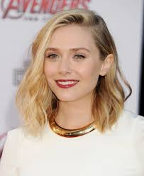 wob hair could elizabeth olsen s wob wavy bob be any more perfect