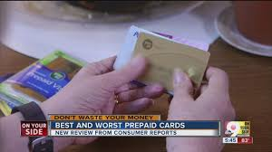 best reloadable prepaid card consumer reports best worst prepaid debit cards wcpo