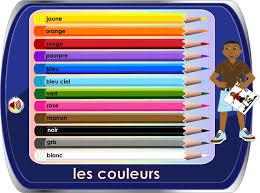 Couleurs En Anglais Francais Meer Dan 1000 Ideeën Les Couleurs En Anglais Op