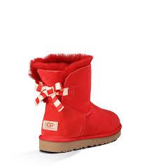 ugg boots bailey bow mini sale ugg shoes near me ugg mini bailey bow stripe boots 1005304