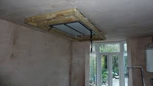 my victorian terrace refurb kitchen progress dropdown ceiling